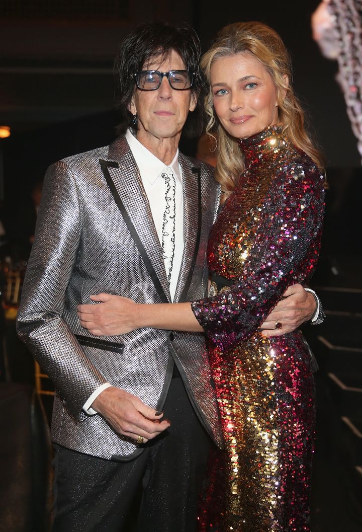 The two appeared together at the Rock & Roll Hall of Fame induction ceremony in April.