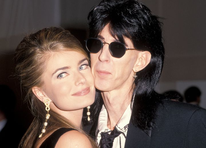 The two at an AIDS benefit in 1990 -- a bit more than a year after they were married.