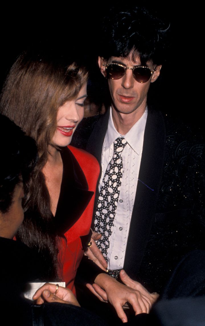 "The pair at the premiere of ""Her Alibi"" in January 1989 -- several months before they were married."