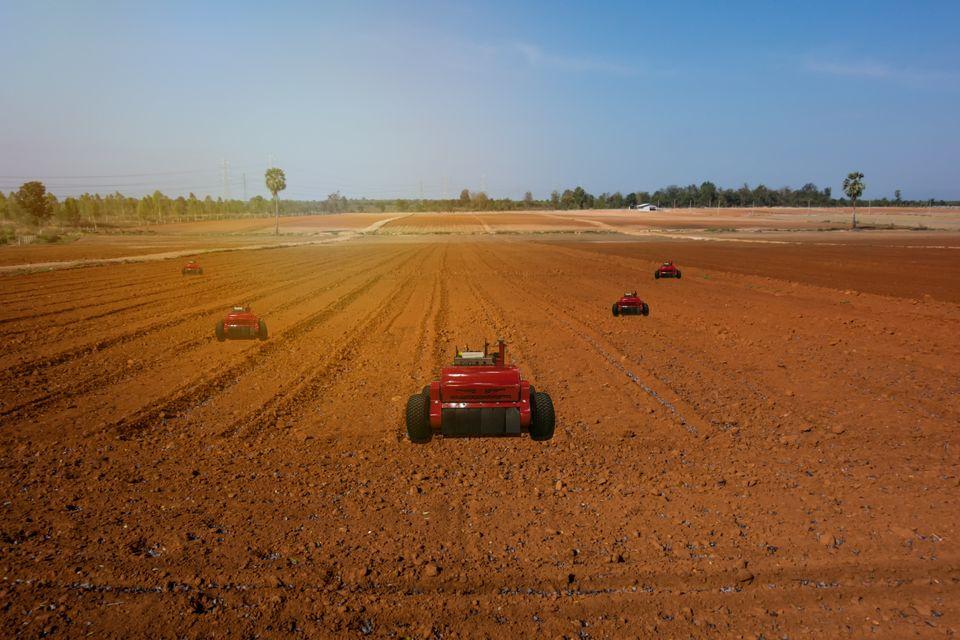 ρομπότ για την αγροτική