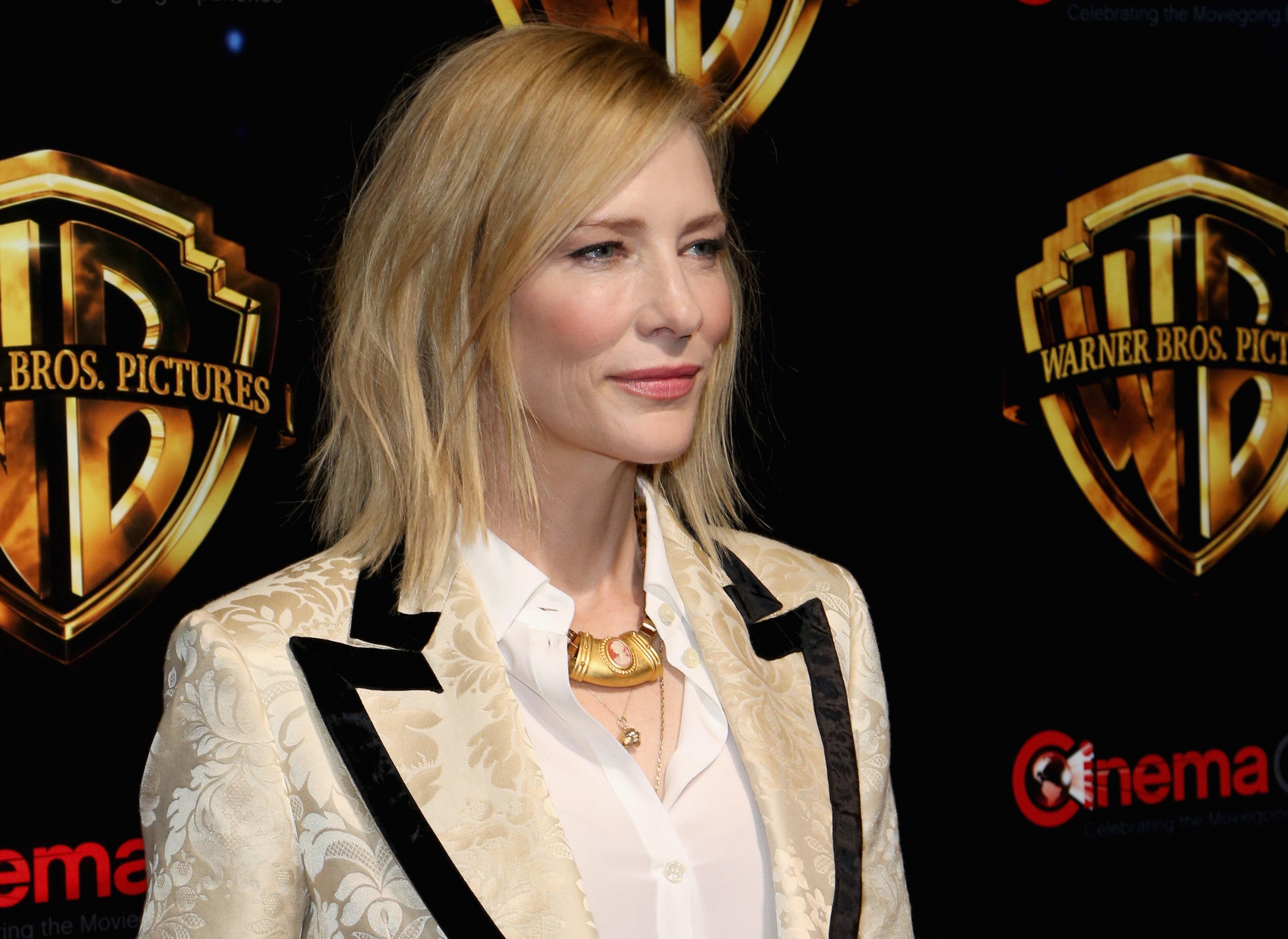 H Cate Blanchett σπάει τη σιωπή της για τον Harvey Weinstein και τον Woody Allen