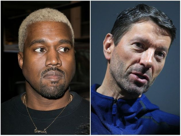 Adidas'CEO Kasper Rorsted (left) has said the brand is committed to Kanye West's Yeezy