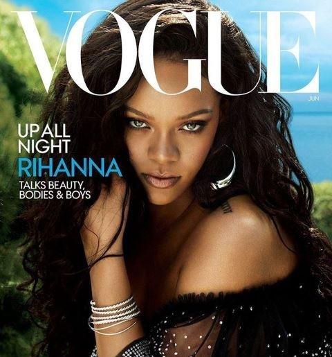 Η Rihanna, δεν καταλαβαίνει από -άντα. Το νέο της εξώφυλλο στη Vogue είναι το κάτι