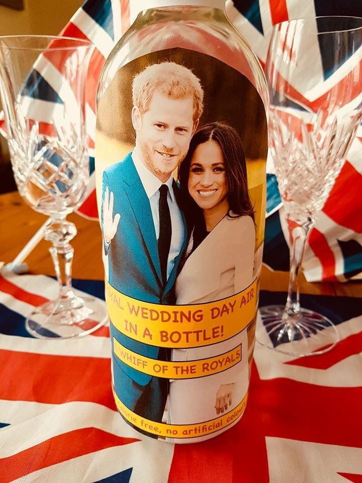 We Have Reached Peak Terrible Memorabilia With Bottled Royal Wedding