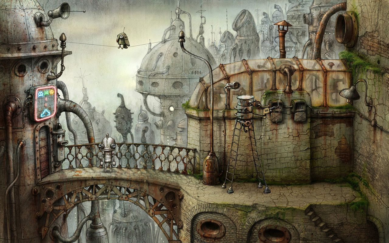 Machinarium Is Almost A Decade Old And It's Still Brilliant On