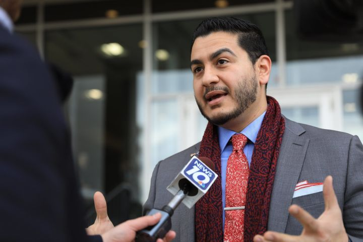 Democrat Abdul El-Sayed, a physician running for Michigan governor, would be the country's first Muslim governor if elected.