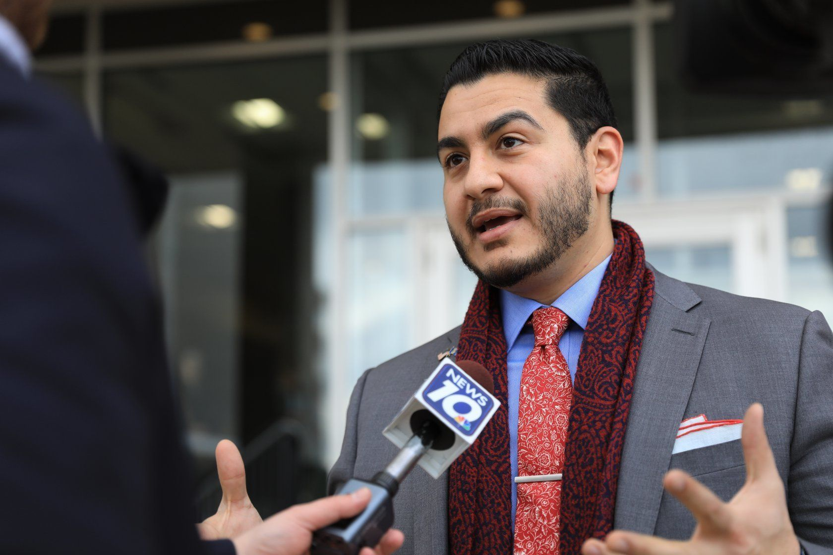 Democrat Abdul El-Sayed, a physician running for Michigan governor, would be the country's first Muslim governor if elec
