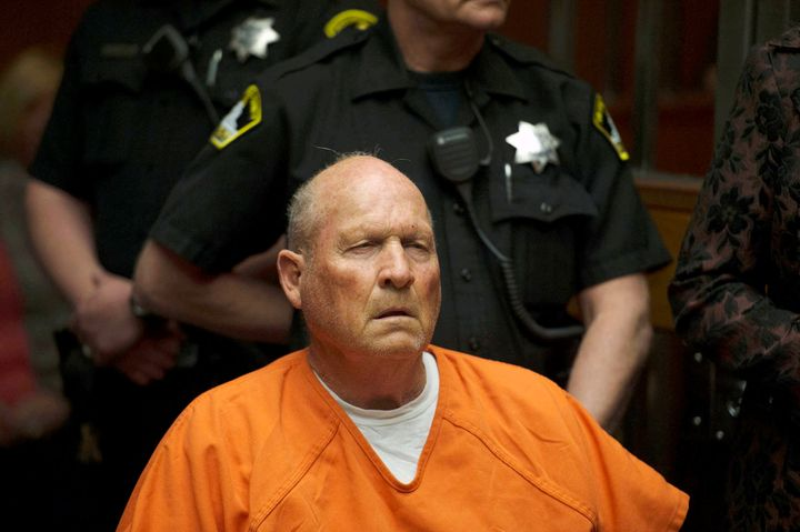 "Joseph James DeAngelo, 72, was identified by DNA evidence as the ""Golden State Killer,"" authorities say."