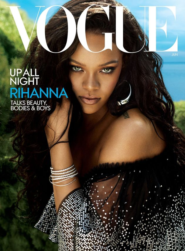 Rihanna covers the June issue of