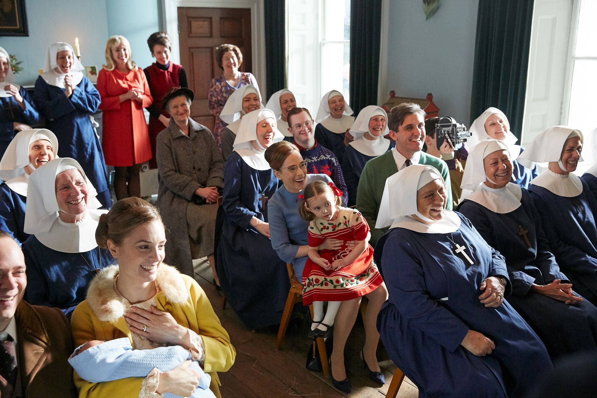'Call The Midwife' Cast Tease Season 8, Revealing What It's Like Working With Miriam