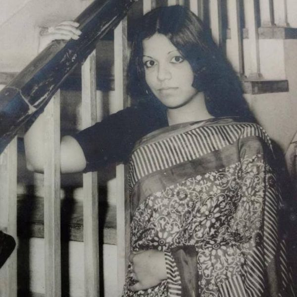"""""""My mother, Anita, in the early '80s on the day she got her doctoratea year and a halfyear earlier than her"""