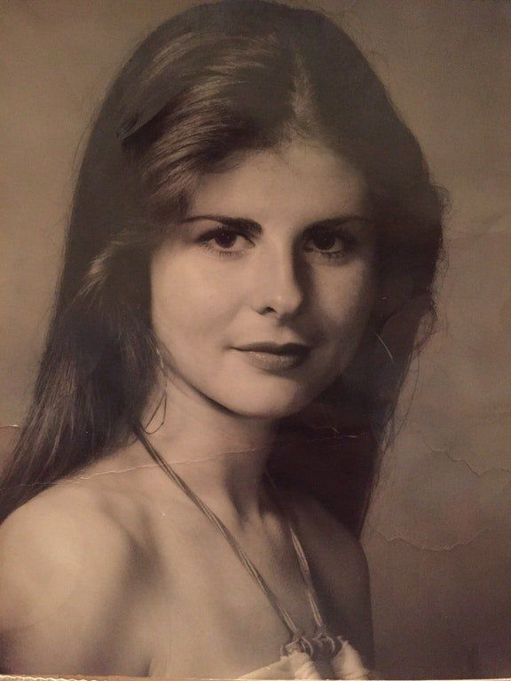 """""""The photo of my mom, Patricia, was taken in the late '70s or early '80s. I was visiting my parents a couple of s"""