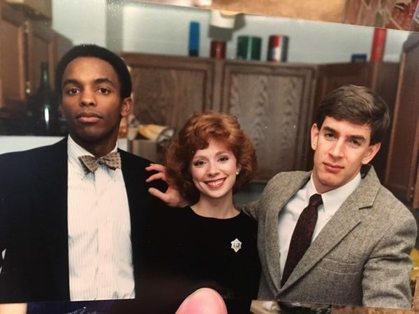 """""""The picture was taken while my mom, Lee, was in business school at the University of Virginia, probably 1987 or 1988. She wa"""