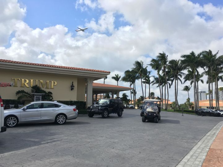 A view of the Trump resort in Doral, Florida.
