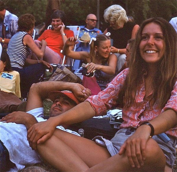 """""""Thisphoto of my mom, Dian Liles, was taken in Weiser, Idaho, at the annual Fiddle Festival in 1973 by a family friend."""