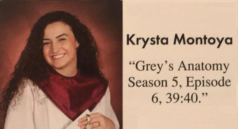 Teen Uses 'Grey's Anatomy' For Secret Yearbook Message About Being