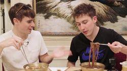 두바이에서 옥류관 평양냉면 먹은 영국남자가 보인