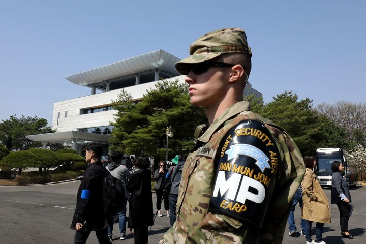 Thousands of U.S. troops have been stationed in South Korea since the Korean War.