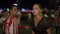 Βίντεο: Αθλητικογράφος στο Μεξικό γυρνά και χτυπά άνδρα που τη θώπευε «στον