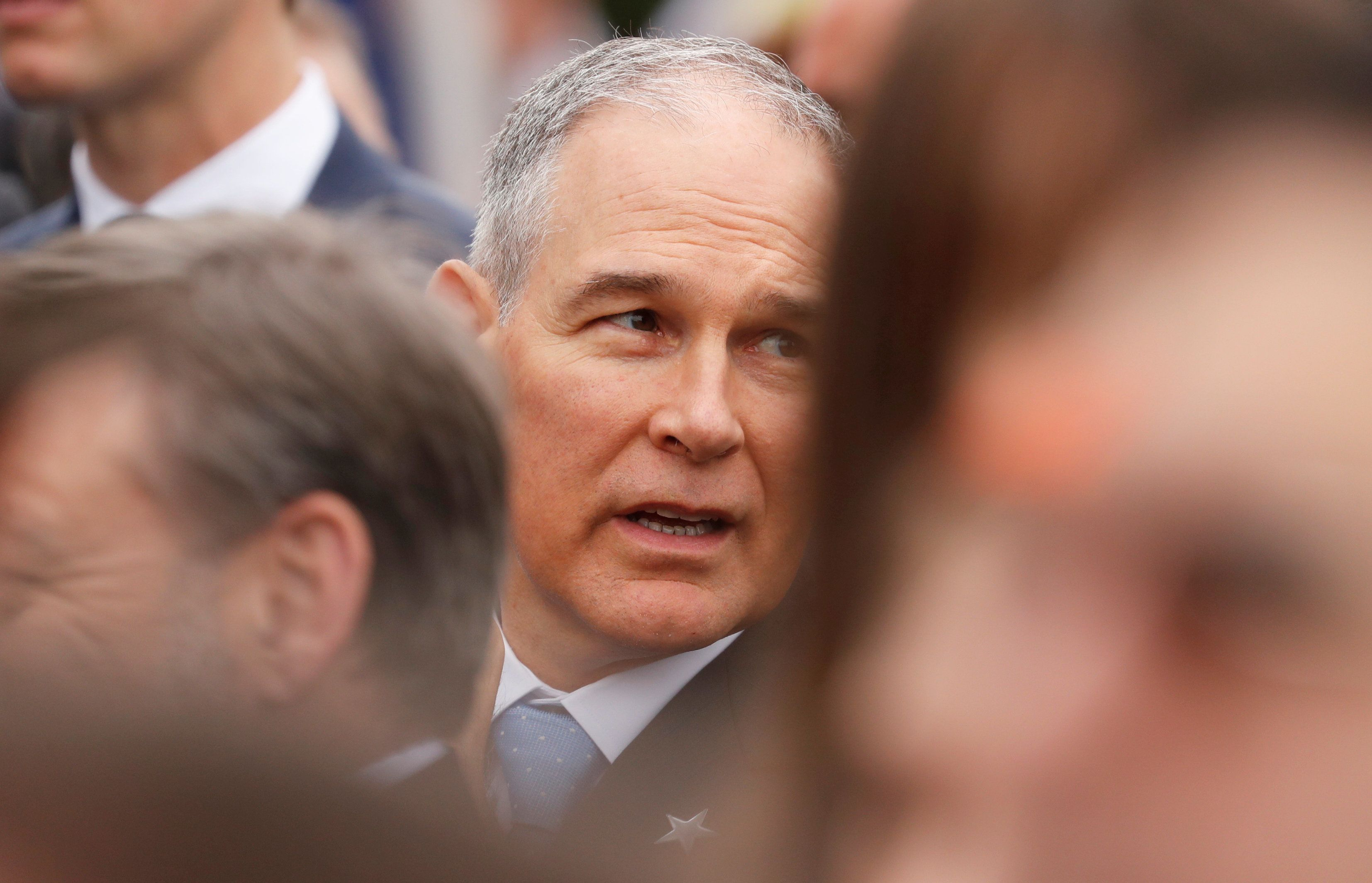 EPA Administrator Scott Pruitt's chumminess with lobbyists has drawn criticism and scrutiny.