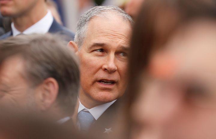 EPA Administrator Scott Pruitt's chumminess with lobbyists has drawn criticism and scrutiny.