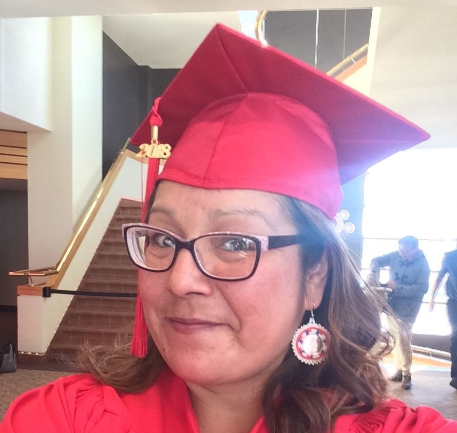 Sherry Mendowegan graduated with her high school diploma in March.