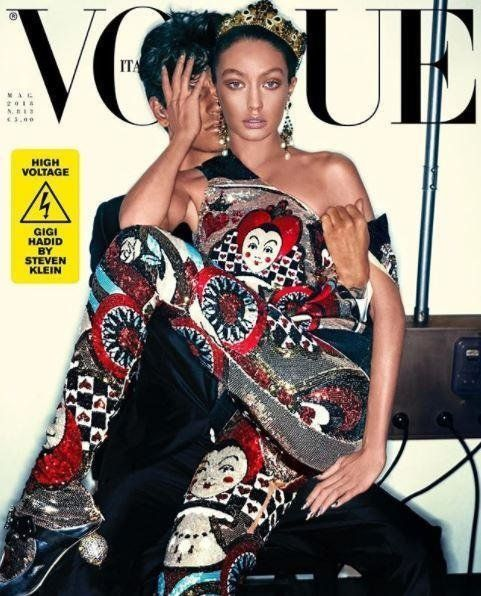 Gigi Hadid Apologises For Vogue Italia Cover After 'Blackface'