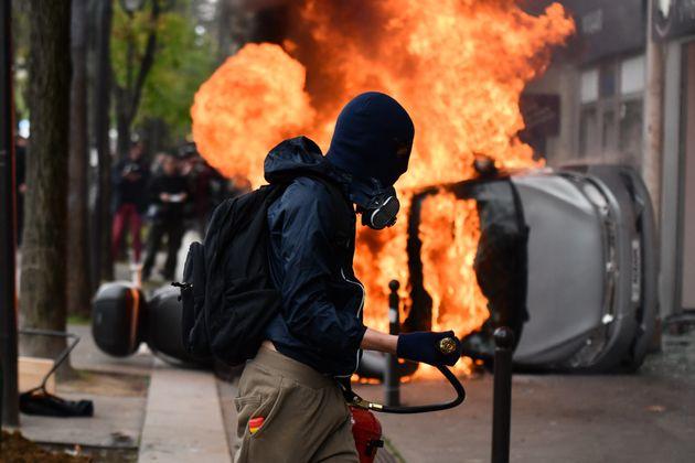 파리 노동절 폭동 참가자 대다수는