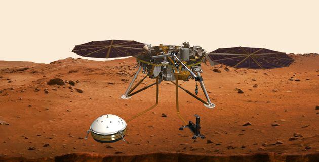 La Nasa va envoyer une sonde sur Mars pour étudier les séismes