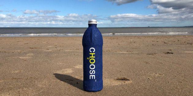Cette nouvelle bouteille 100 % biodégradable pourrait sauver les