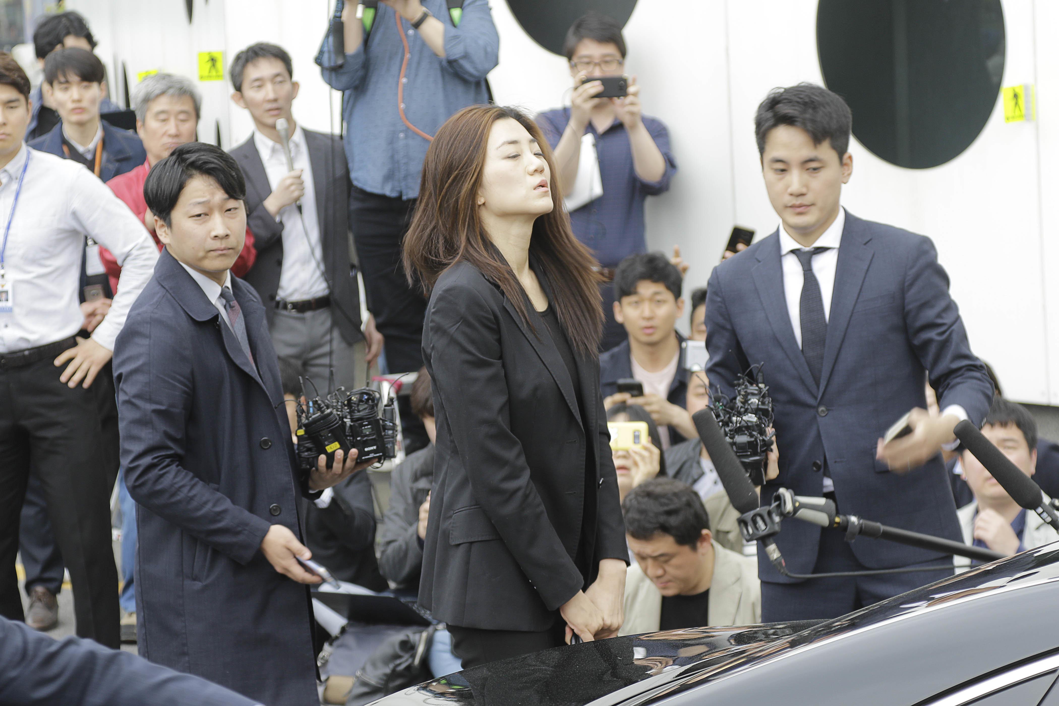 검찰이 조현민 구속영장을