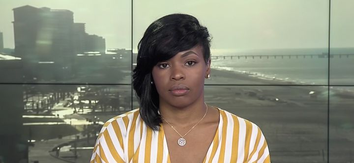 Chikesia Clemons on MSNBC. Clemons was the victim of a violent police encounter after asking about utensils at a Waffle House.