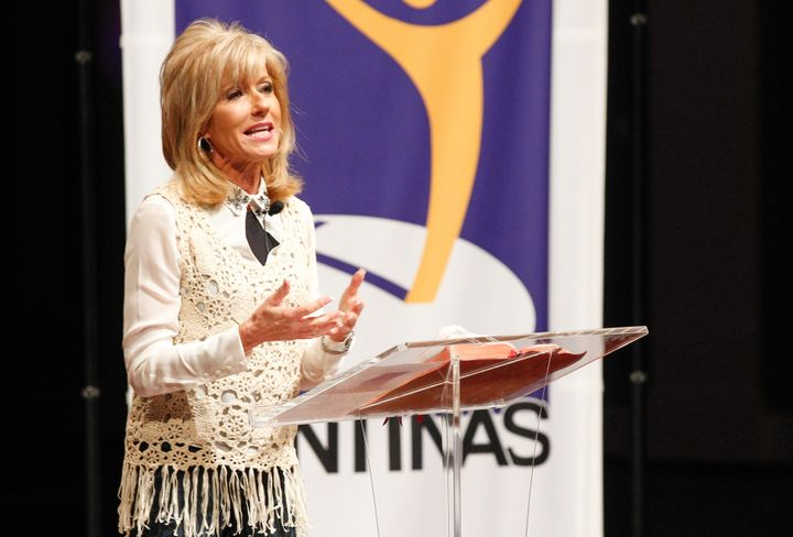 """I was the elephant in the room with a skirt on,"" Beth Moore writes."