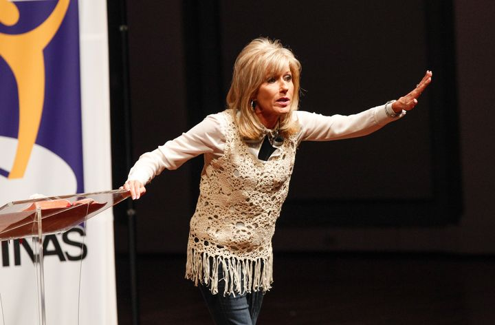 Evangelist and author Beth Moore is speaking out about the sexism and misogyny she's endured for decades as a woman in the mi