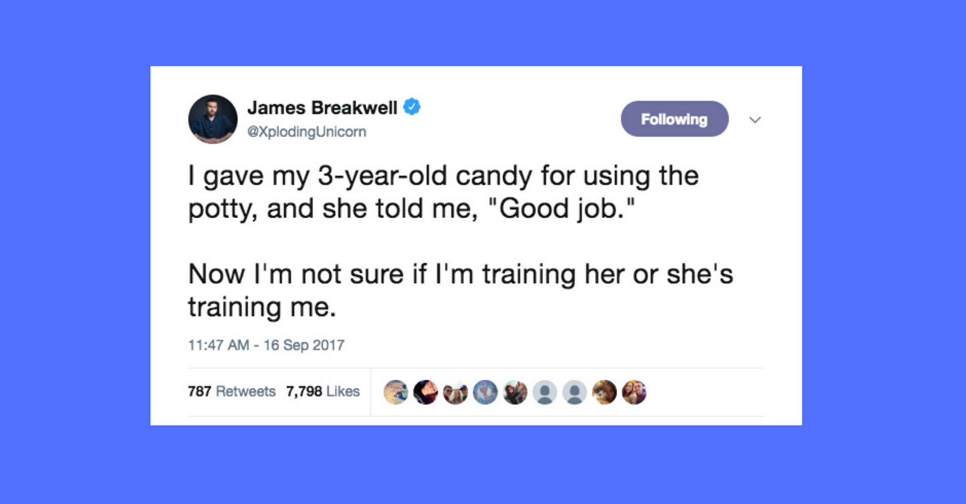 There Is No Yelp Why Parents Struggle >> 37 Hilarious Tweets About Potty Training Huffpost Life