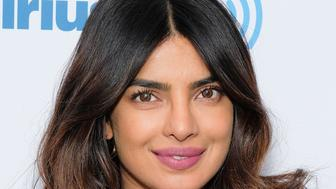 NEW YORK, NY - MAY 02:  Actress Priyanka Chopra visits SiriusXM Studios on May 2, 2018 in New York City.  (Photo by Matthew Eisman/Getty Images)