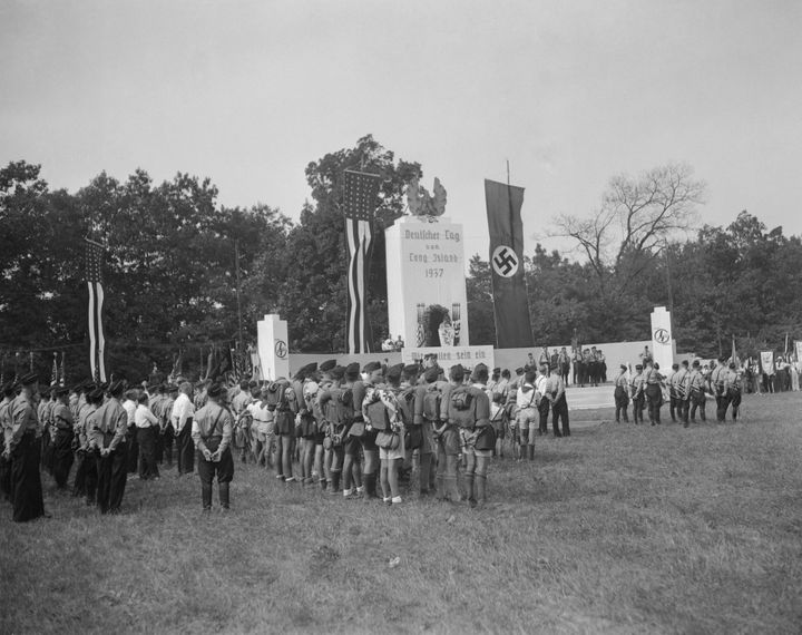 Camp Siegfried, a pro-Nazi summer camp on New York's Long Island in the 1930s.