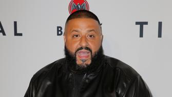 DJ Khaled arrives for the TIDAL X benefit concert in New York October 17, 2017. REUTERS/Lucas Jackson