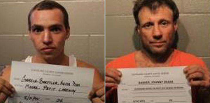 KevinGarcia-Boettler, 22, and Johnny Shane Barker, 43.