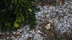Ισχυρή χαλαζόπτωση σε περιοχές των Τρικάλων και της