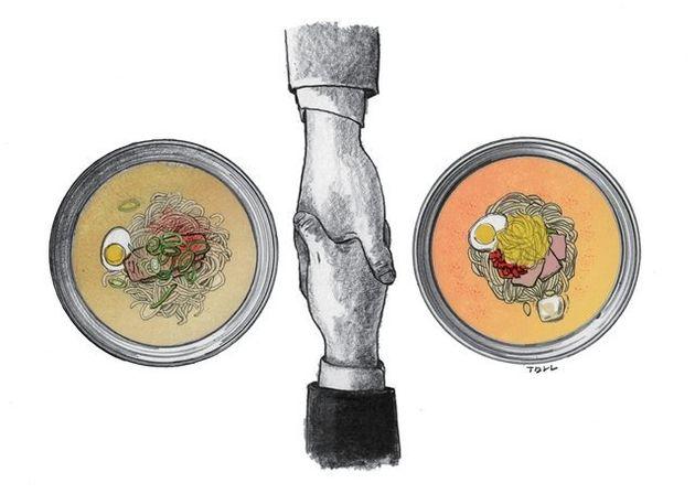 '진짜 평양냉면'을 맛보기 위한 평화라