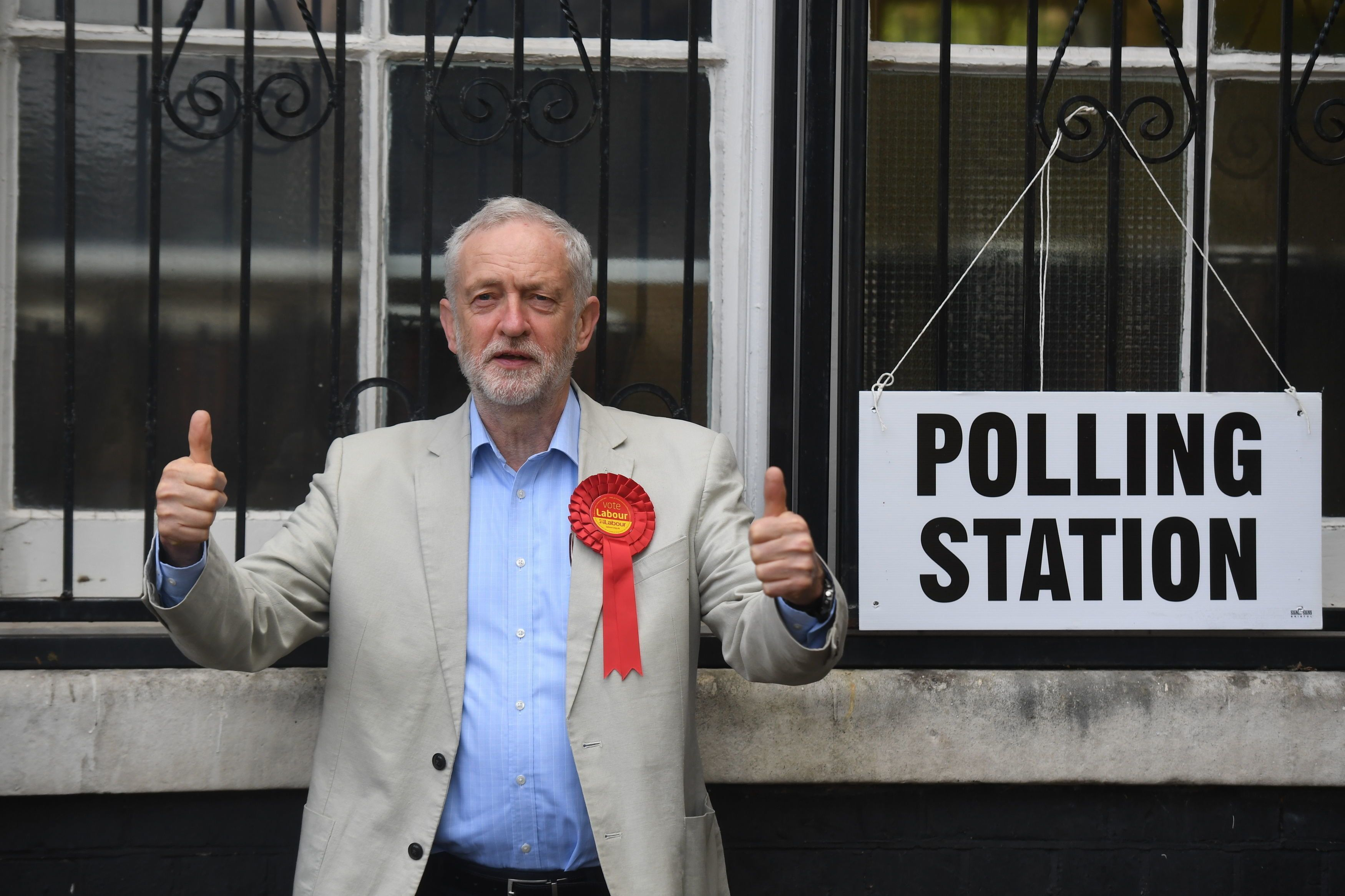 Labour leader Jeremy Corbyn claims his party has 'made progress in the places we need to win in the next...