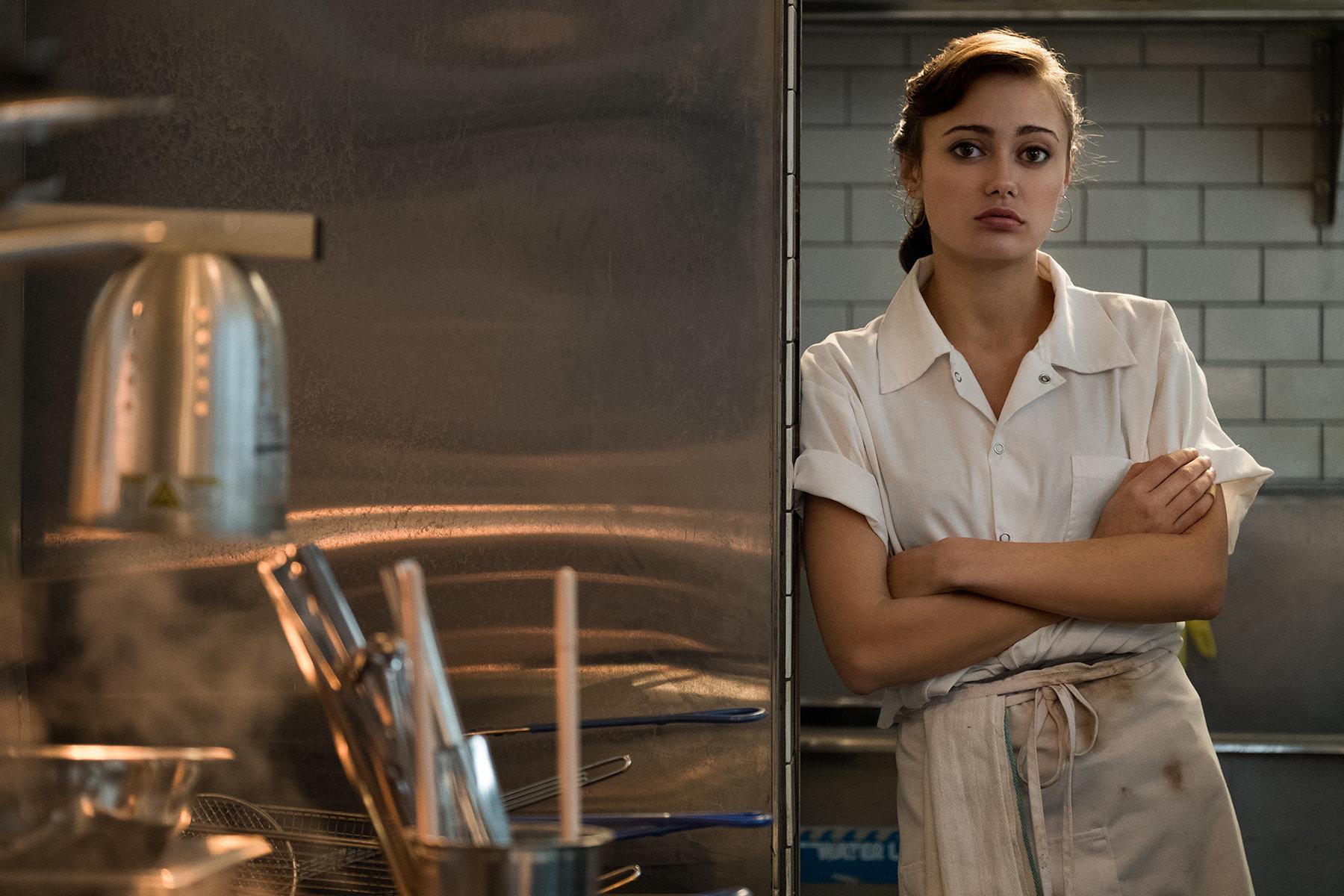 "Ella Purnell stars as Tess in ""Sweetbitter."""