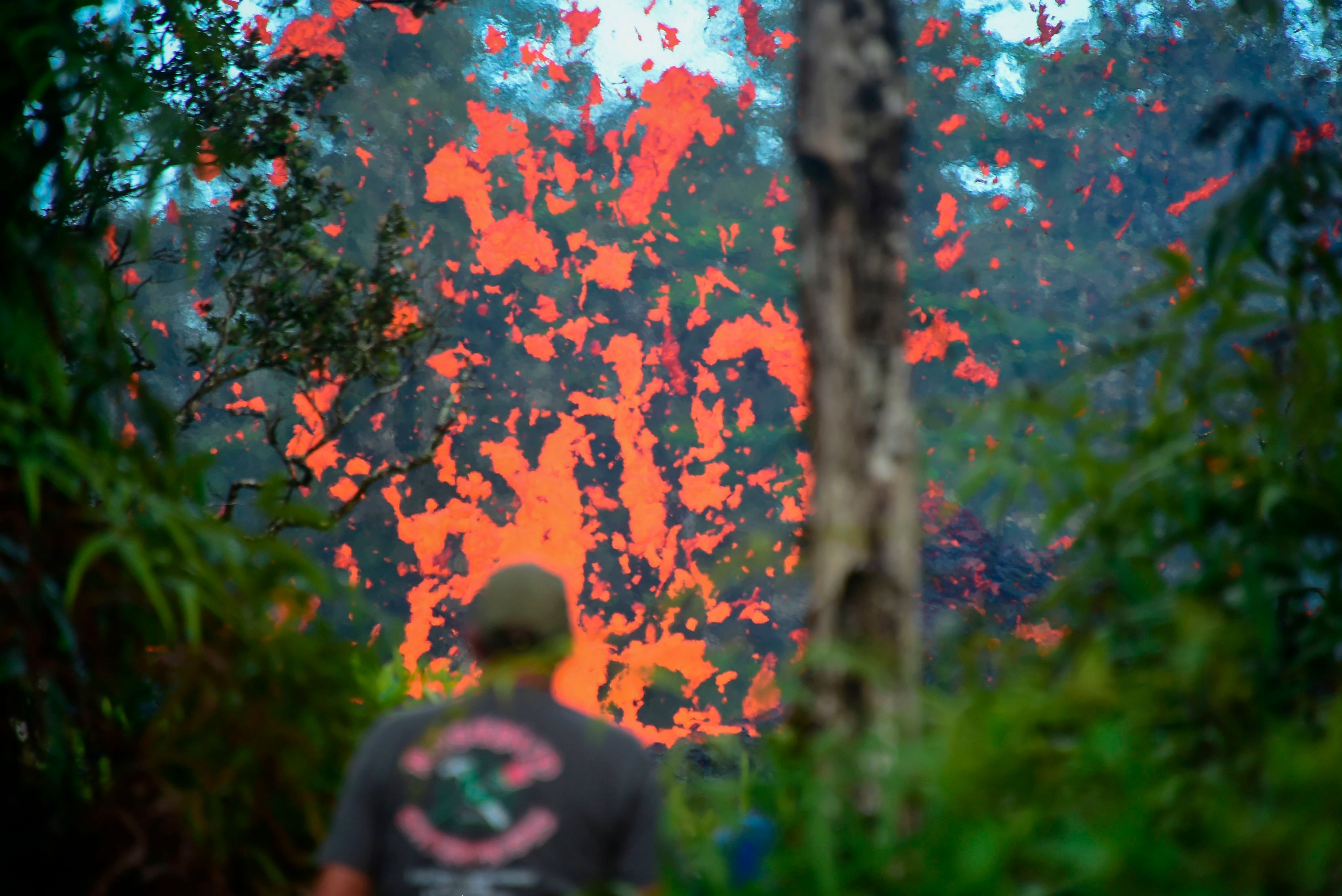 See The Fury Of Hawaii's Latest Volcanic