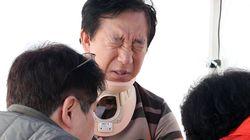 경찰이 김성태 폭행범에 대해 구속영장을