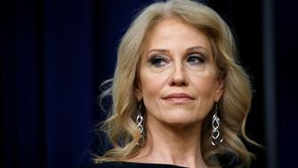 White House counsellor Kellyanne Conway takes part in a forum called Generation Next at the Eisenhower Executive Office Building in Washington, U.S., March 22, 2018. REUTERS/Leah Millis