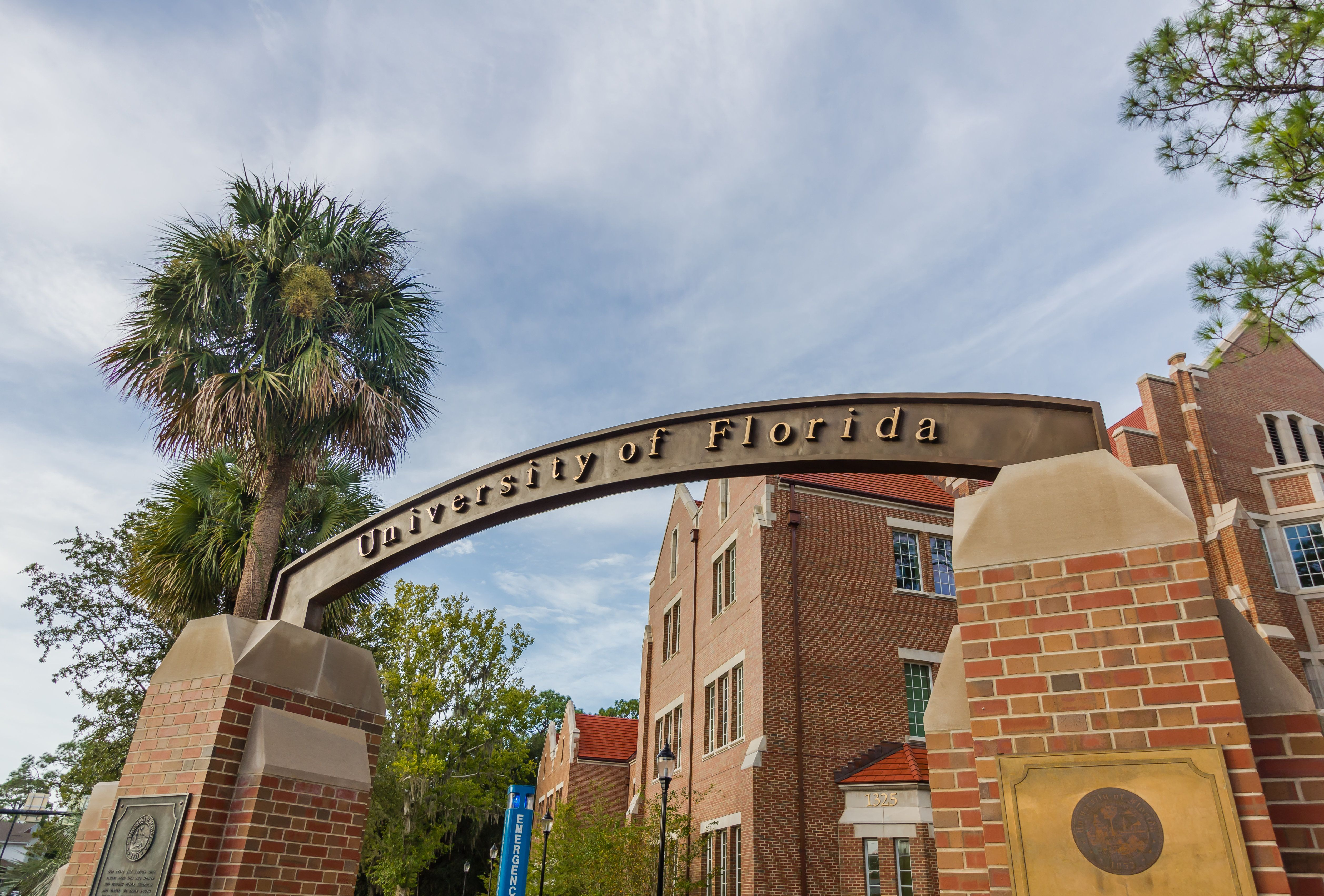 Videos showing black college graduates being physically forced off of the University of Florida's commencement...