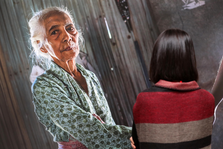 아시아 일본군 성노예 피해 여성 사진전이