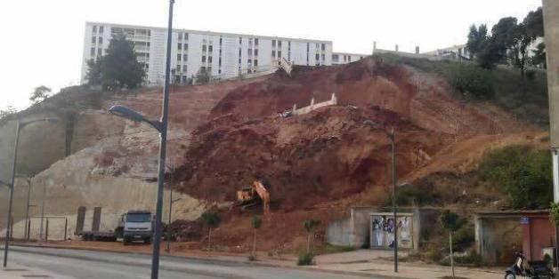 Importants glissements de terrains enregistrés au pole urbain de Médéa: une expertise