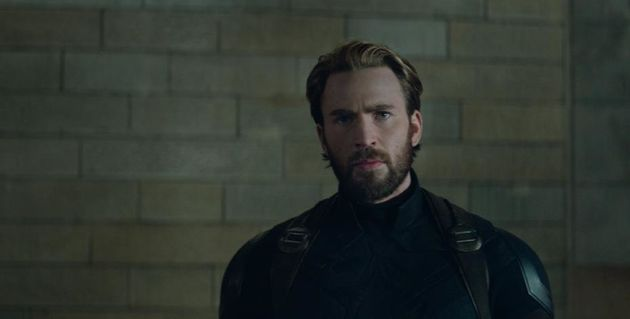 Chris Evans as Captain America in